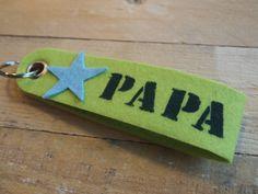 by Wis en Waarachtig: Vilten sleutelhanger voor #vaderdag