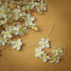 Lovely Miniature Paper Flowers for craft making  #craft365.com