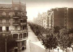 Príncipe de Vergara esquina Calle Goya, Madrid (1 de enero de 1929)