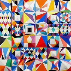 geometric : square : Yaacov Agam