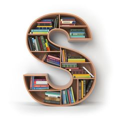 Illustration about Letter H. Alphabet in the form of shelves with books isolated on white. Illustration of number, interior, literature - 105539383 Home Decor Shelves, Wall Shelves Design, Bookshelf Design, Home Office Furniture Design, Home Room Design, Home Decor Furniture, Creative Bookshelves, Bookshelves In Bedroom, Wooden Sofa Set Designs