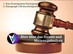 Alex über das Gesetz und Meinungsfreiheit