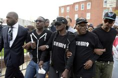 Freddie Gray, 25, has become the latest symbol in the running national debate over police treatment of black men.  Mr. Gray died in Baltimore a week after he was chased and restrained by police officers, and suffered a spine injury, which later killed him, in their custody. The police say they have no evidence that their officers used force. A lawyer for Mr. Gray's family accuses the department of a cover-up, and on Tuesday the Justice Department opened a civil rights inquiry into his death.