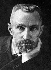 "Pierre Curie (15 May 1859 – 19 April 1906) was a French physicist, a pioneer in crystallography, magnetism, piezoelectricity and radioactivity. In 1903 he received the Nobel Prize in Physics with his wife, Marie Salomea Skłodowska-Curie, and Henri Becquerel, ""in recognition of the extraordinary services they have rendered by their joint researches on the radiation phenomena discovered by Professor Henri Becquerel""."