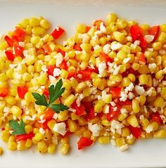 Warm Corn & Pepper Salad recipe made in Tupperware's Microwave TupperWave Stack Cooker. Tupperware Recipes, Recipe Cover, Cooker Recipes, Baking Recipes, Great Recipes, Food To Make, Side Dishes, Veggies, Yummy Food