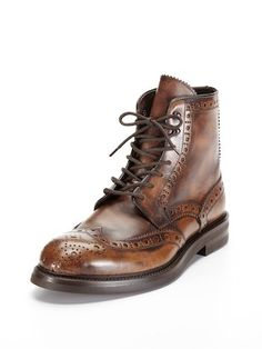 Wingtip Boots by Antonio Maurizi at Gilt