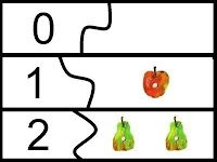 Very Hungry Caterpillar Math Center