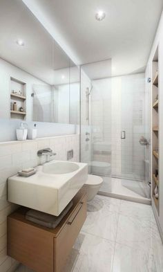 Bathroom : white