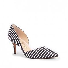 striped pump from @solesociety