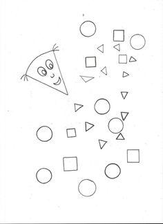 Drak- geometrické tvary Diagram, Math Equations, Geometry, Fall
