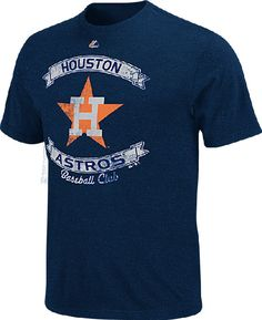 Houston Astros Cooperstown Legendary Victory T Shirt by Majestic $21.95