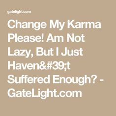 How can i change my karma