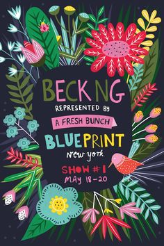 From the looks of the artists that will be on display in the A Fresh Bunch booth at Blueprint, it's definitely worth checking out. Check out this eye candy!
