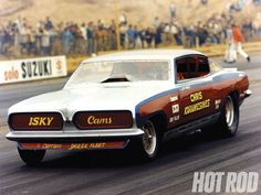 Legend, Chris Karamesines - he is still drag racing at over 80 years old (NHRA Top Fuel dragster)