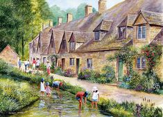 Cotswold Village by  Terry Harrison
