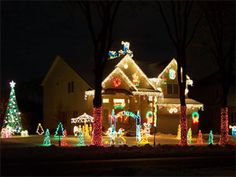 Outdoor Christmas Lights: Decorating Ideas