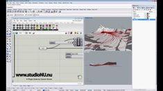 Flow Line Study Over Topo with Mosquito - Tutorials for Landscape Archit...