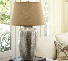 leah oversized lamp pottery barn - Google Search