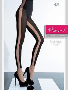 Denne tightsen imiterer leggings. Fordelen er at denne ikke siger oppover i støvletter, slik leggings kan gjøre. Kan lett brukes med det meste i skapet ditt.