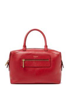 Padam Bowling Leather Medium Satchel from Lanvin Handbags