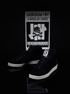 new style 67955 05408 UNDEFEATED x NEIGHBORHOOD x adidas Consortium Official Mid 80s