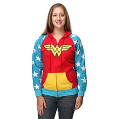 Wonder Woman Hoodie- I like this so much!!