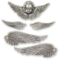 Solid Oak Online - Steam Punk Wings and Cherub Charms, $3.99 (http://www.solidoakonline.com/steam-punk-wings-and-cherub-charms/)