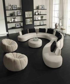 With black and white, it's all about the contrasts with various textures for interest.