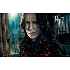Harry Potter and the Deathly Hallows: Part 2 - Professor Severus Snape ❤ liked on Polyvore featuring harry potter and snape