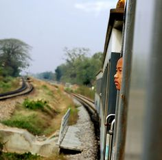 early train to bangkok by maessive, via Flickr