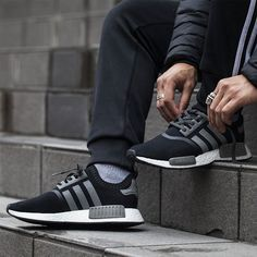 adidas Consortium NMD Primeknit Black/Xeno| Now available IN-STORE ONLY. Sizes range from UK5 - UK12 (including half sizes) priced at 130. For more information on in-store size availability please call the store on 020 7287 8094. #Footpatrol #TEAMFP #adidasConsortium by footpatrol_ldn
