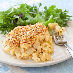 Inspired by Southern recipes—our Macaroni and Cheese Casserole is custard-based that bakes into sliceable portions.