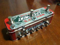 3 channel looper guitar pedal. $65.00, via Etsy.