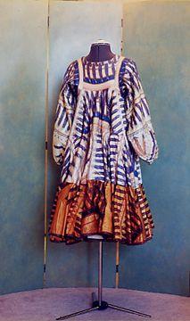 zandra rhodes feather dress