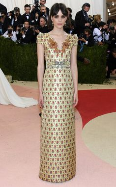 Stacy Martin from Met Gala 2016: Red Carpet Arrivals | E! Online