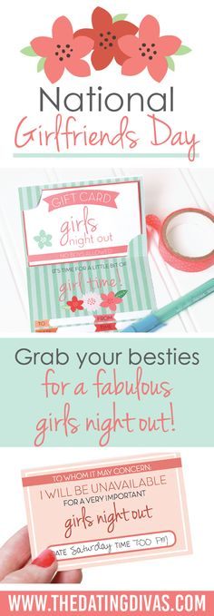 Celebrate National Girlfriends Day with fun games and activities!