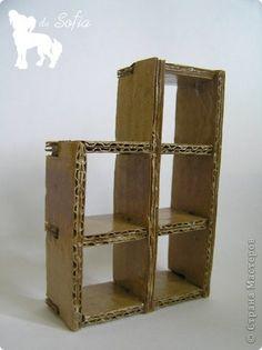 Cardboard Box Storage, Diy Cardboard Furniture, Cardboard Box Crafts, Cardboard Paper, Funky Furniture, Craft Storage, Handmade Home Decor, Diy Home Decor, Diy Home Crafts
