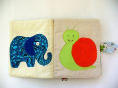 Fabric book baby book soft book child toys by NanaSewingSpase, $38.00