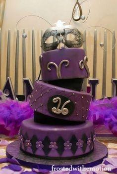 Purple Masquerade