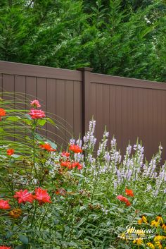 brown vinyl fence panels. Amazing Images Of PVC Vinyl Fence Panels, Gates, And Sections From Illusions Brown Panels