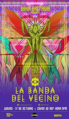 """Cresta Metálica Producciones » La Banda del Vecino comienza un """"Sueño Sin Final"""" en Bahía Rastabar Café!!!"""