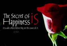 Secrets of #happiness.