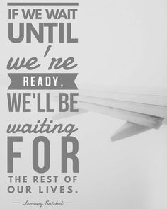 """15 Likes, 1 Comments - Karina Jules (@karina_jules) on Instagram: """"We will never be 100% ready... Whatever it is you're waiting for, go for it. Be cautious, have a…"""""""