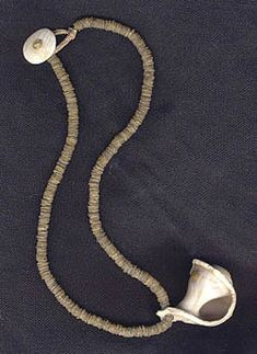 Katie Singer's Jewelry - brideprice heishi and shell necklace