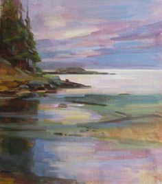 Desiree Bond Artist - Wittys Beach Haystock Islets
