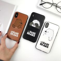 Friends Phone Case, Diy Phone Case, Cute Phone Cases, Iphone Phone Cases, Iphone Ringtone, Matching Phone Cases, T Mobile Phones, Capas Samsung, Bear Card