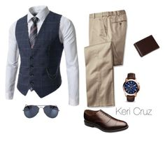 """Set1.1"" by keri-cruz ❤ liked on Polyvore featuring NLY Accessories, Allen Edmonds, FOSSIL, women's clothing, women, female, woman, misses and juniors"