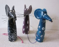 Pottery Animals, Ceramic Animals, Ceramic Art, Paper Clay, Clay Art, Beginner Pottery, Rolled Paper Art, Diy And Crafts, Arts And Crafts