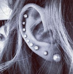 Ear piercings                                   #piercings