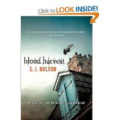 """""""Blood Harvest"""" by SJ Bolton: another creepy thriller from Bolton - http://www.goodreads.com/review/show/359026635"""